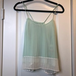 NWT Bar III mint green blouse